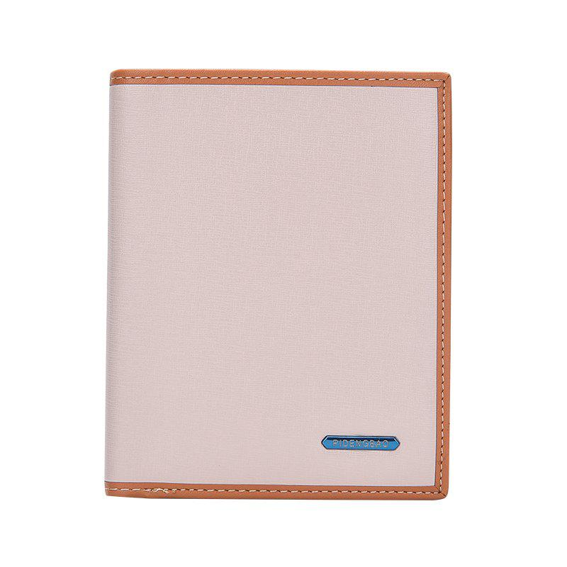 Shops New Men's Short Wallet Casual Fashion Vertical Section Card Package