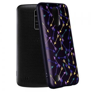 For LG K10 2017 European  Colorful Arrow  Pattern Soft TPU Phone Case -