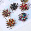 Popular Creative Fashion Antennae Flower Horse Eye Brooch -