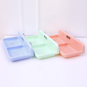 Double Waterproof Drain Plastic Soap Holder -