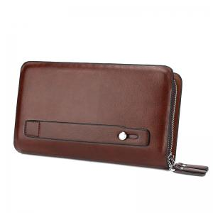 Casual Double Zipper Long Pochette Homme -