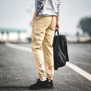 New Letter Feet Nine Pants Men -
