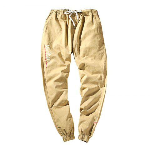 Fancy New Letter Feet Nine Pants Men