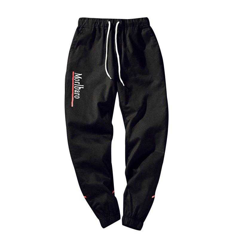 New New Letter Feet Nine Pants Men