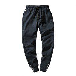 Men's Casual  Zipper Pants -