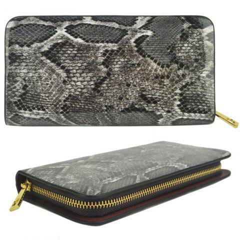 Porte-monnaie Serpentine Pattern Elegant Classy Versatile All Match Faddish Purse