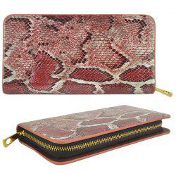 Porte-monnaie Serpentine Pattern Elegant Classy Versatile All Match Faddish Purse -