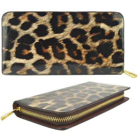 Femmes Purse Leopard Color Block Sexy Versatile tous les match sac à main à la mode