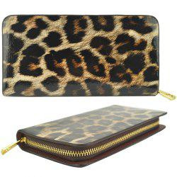 Femmes Purse Leopard Color Block Sexy Versatile tous les match sac à main à la mode -