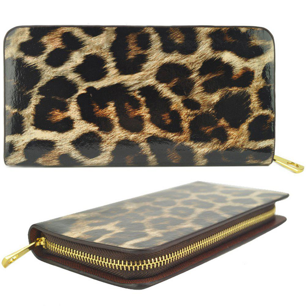 Discount Women's Purse Leopard Color Block Sexy Versatile All Match Fashionable Purse