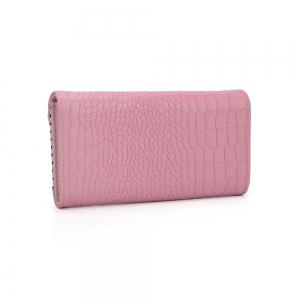 Women's Wallet Solid Color Short Pattern Letter Decor Chic Stylish Bag -