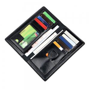Men's Wallet Striped Solid Color Long Style Fashion Purse -
