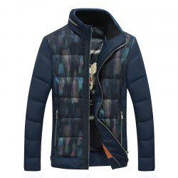 Casual Men's Down Jacket Warm Coat -