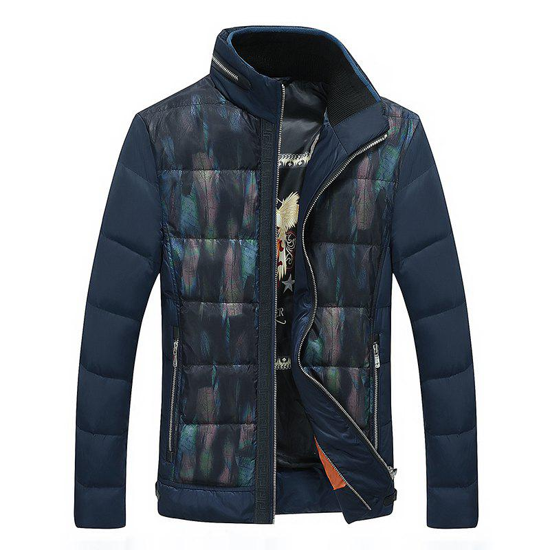 Online Casual Men's Down Jacket Warm Coat