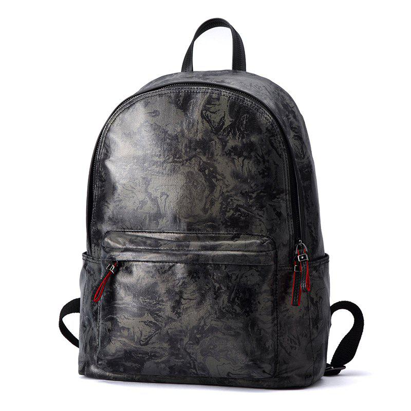 Hot HAUT TON Design Printing Canvas Water Resistant Backpack