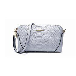 Lady Mini Shoulder Handbag Fashion PU Small Messenger Bag -