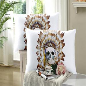 Painted Pattern Tribal Skeleton Chieftain Series Bedding Set Three or Four Pieces AS17 -