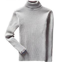 Men's Winter Long Sleeve Turtleneck Sweater -