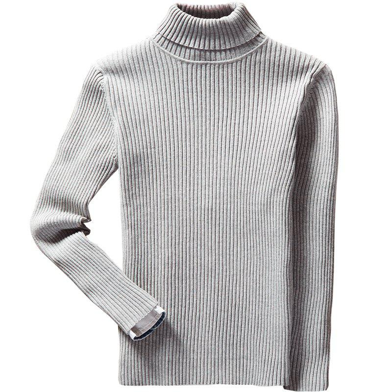 Cheap Men's Winter Long Sleeve Turtleneck Sweater