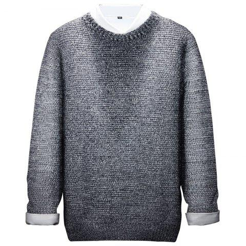 Discount Long Sleeved Round Collar Warm Leisure Sweater