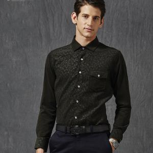 Autumn and Winter Men'S Leisure Body Fashion Shirt -