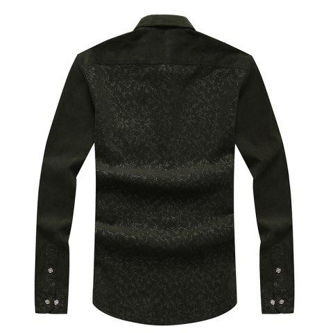 Discount Autumn and Winter Men'S Leisure Body Fashion Shirt