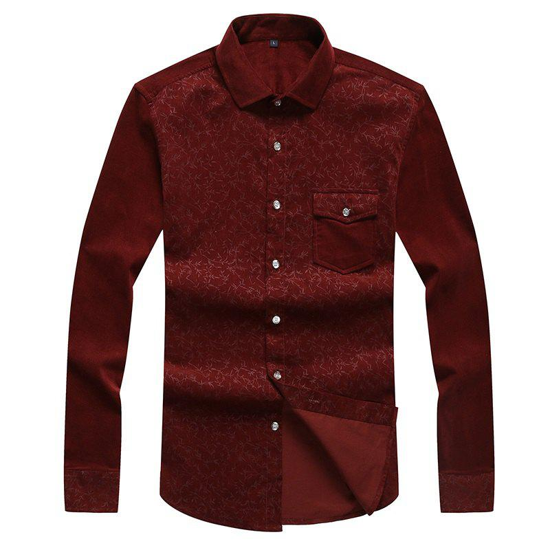 New Autumn and Winter Men'S Leisure Body Fashion Shirt