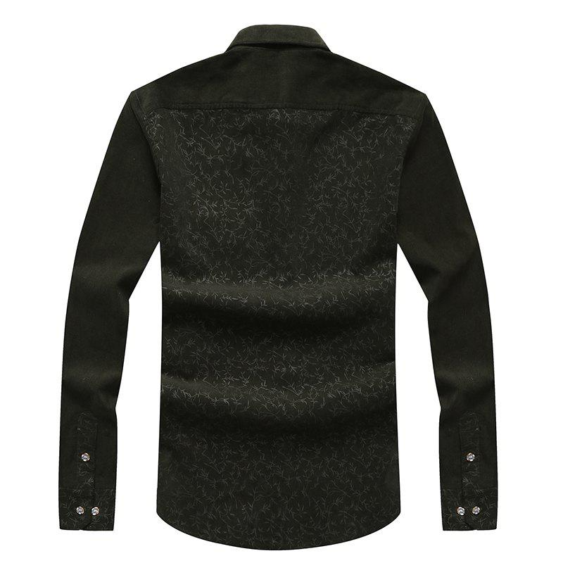 Fashion Autumn and Winter Men'S Leisure Body Fashion Shirt