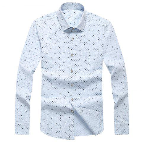 Fancy Autumn and Winter Men's Leisure Fashion Professional Dress Shirt