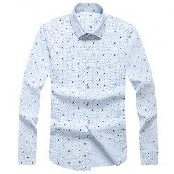 Autumn and Winter Men's Leisure Fashion Professional Dress Shirt -