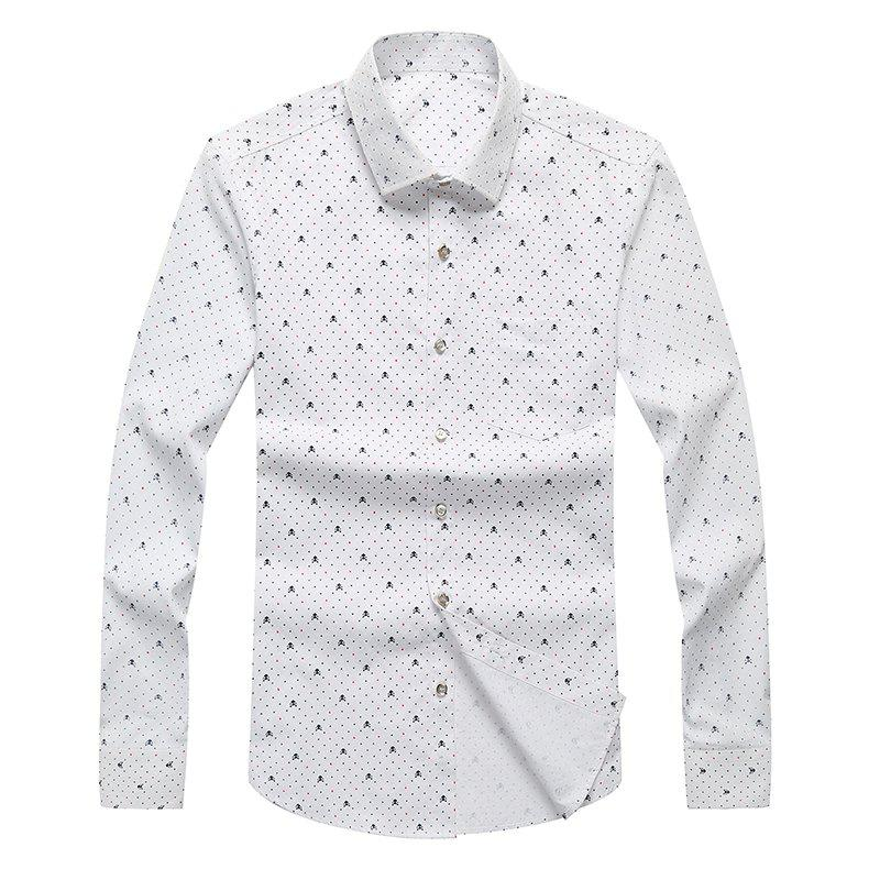 Cheap Autumn and Winter Men's Leisure Fashion Professional Dress Shirt