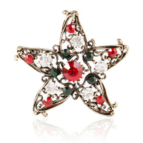 New Five Star Brooch for Creative Gifts