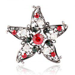 Five Star Brooch for Creative Gifts -
