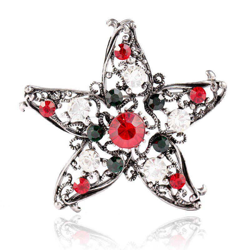 Buy Five Star Brooch for Creative Gifts