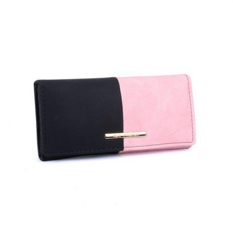 Affordable Women's Purse  Color Block Elegant Style Bag