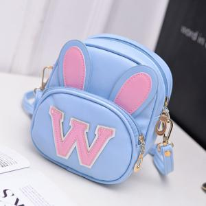 Girl's Schoolbag Rabbit Ear Cute Kid's Crossbody Bag -