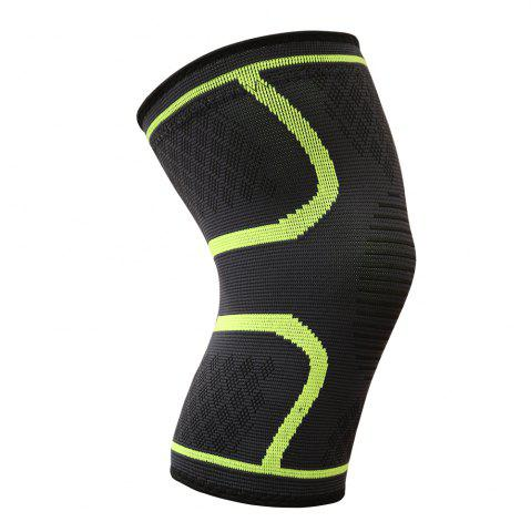 Trendy Boer Comfortable Anti Slip Compression Knitting Knee Brace Support Sleeve for Pain Relief Products Yoga Sports