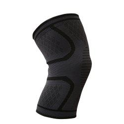 Boer Comfortable Anti Slip Compression Knitting Knee Brace Support Sleeve for Pain Relief Products Yoga Sports -