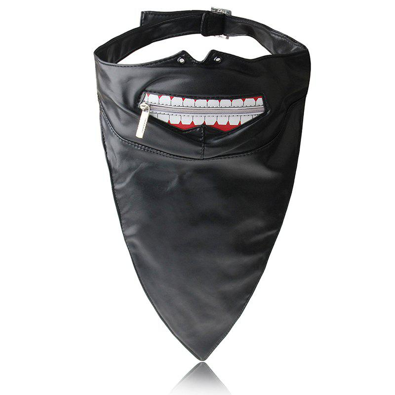 Best Hot Selling Punk Wind Zipper Dustproof Locomotive Face Mask
