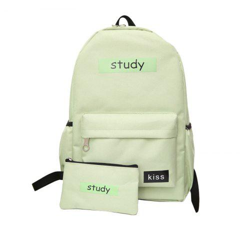 Lash Package Étudiant Pure Color Backpack