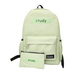 Lash Package Étudiant Pure Color Backpack -