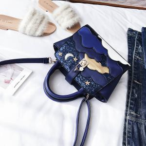 Simple Cloud Wild Shoulder Messenger Bag Handbag -
