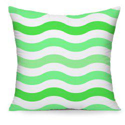 Fresh Green Wavy Household Cotton Pillowcases Hold -