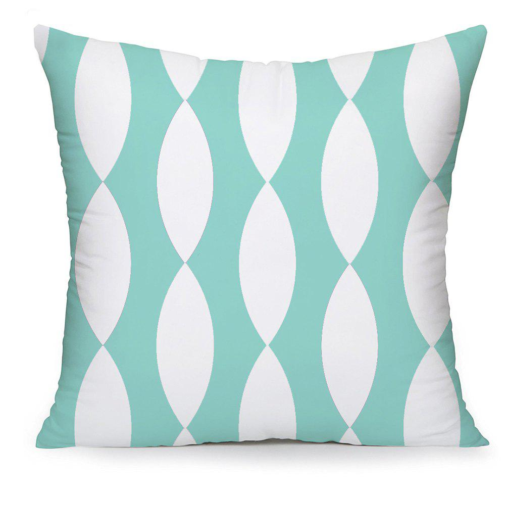 Outfit Abstract Domestic Cotton Pillowcase Oval Composite Cushion Cover