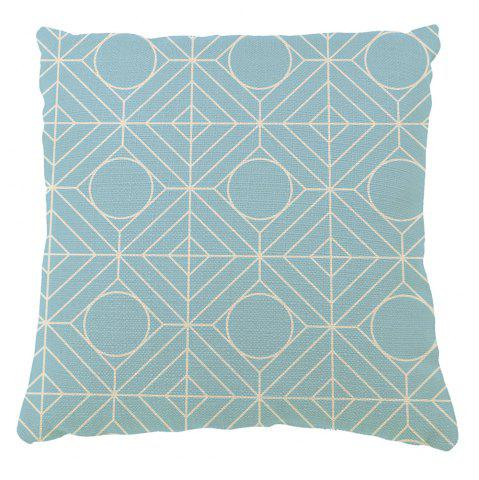 Store Continental Retro Geometric Pattern Symbol Pillowcase Sofa Cushion Cover