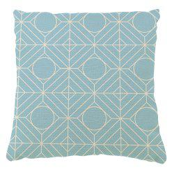 Continental Retro Geometric Pattern Symbol Pillowcase Sofa Cushion Cover -