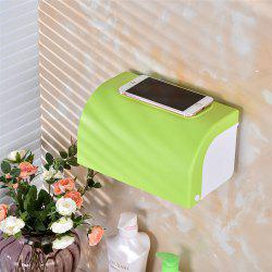 Bathroom Waterproof Large Size Tissue Plastic Holder Box -