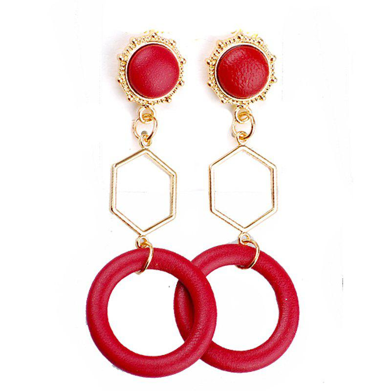 Chic Fashion Hyperbole Geometric Accessories Jewelry Earring for Woman