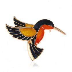 Chinese National Culture and Quality Kingfisher Brooch -