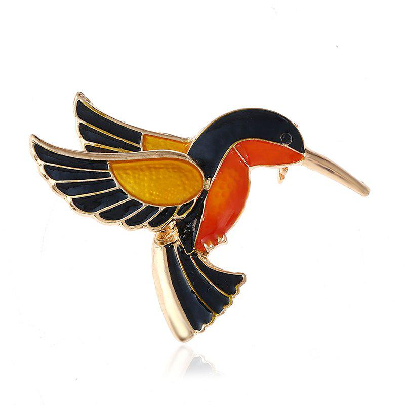 Outfit Chinese National Culture and Quality Kingfisher Brooch